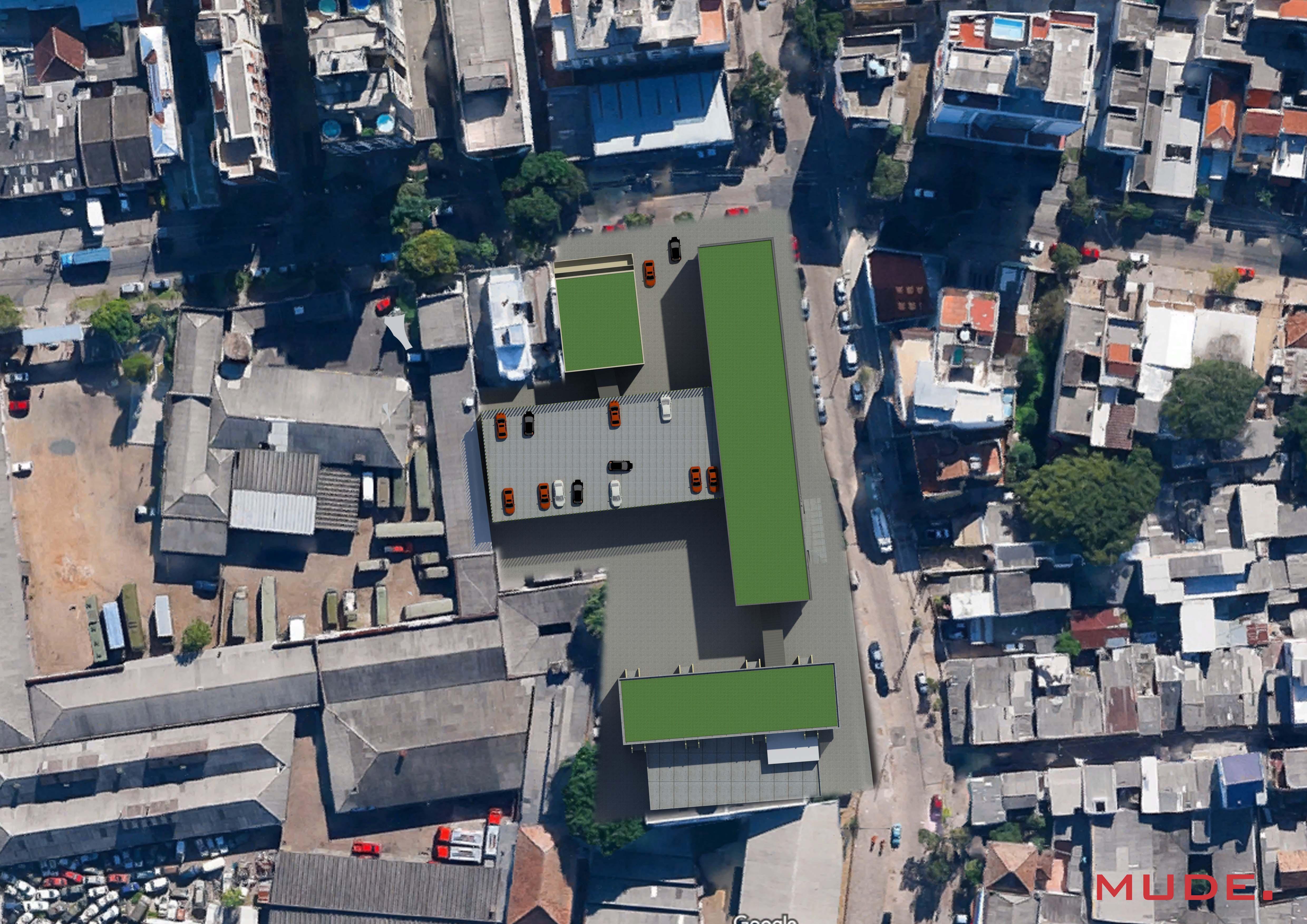 Projeto de construção e interiores realizado pela Mude. em Porto Alegre